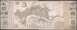 A New & Exact Plan of the Cities of London, & c.